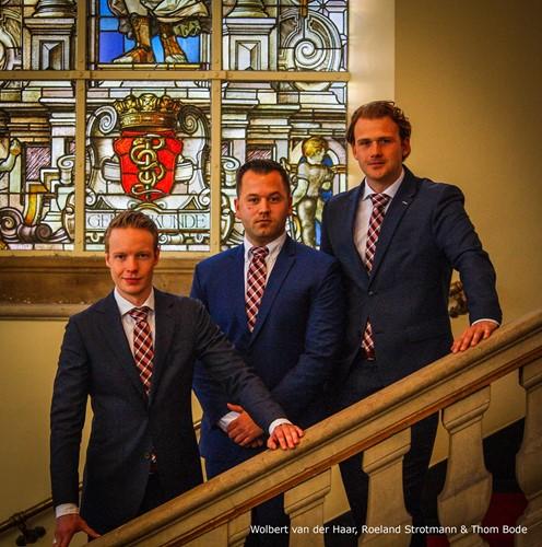1e Bestuur Real Estate Club Groningen