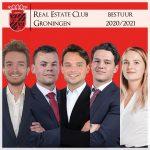 Bestuur 2020 - 2021 Real Estate Club Groningen