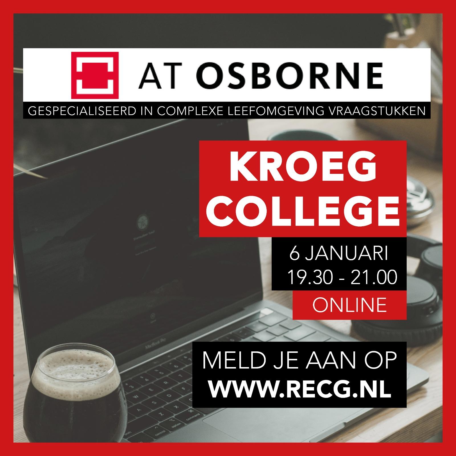 AT Osborne Kroegcollege RECG