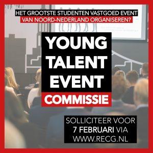Sollicitatie Young Talent Event